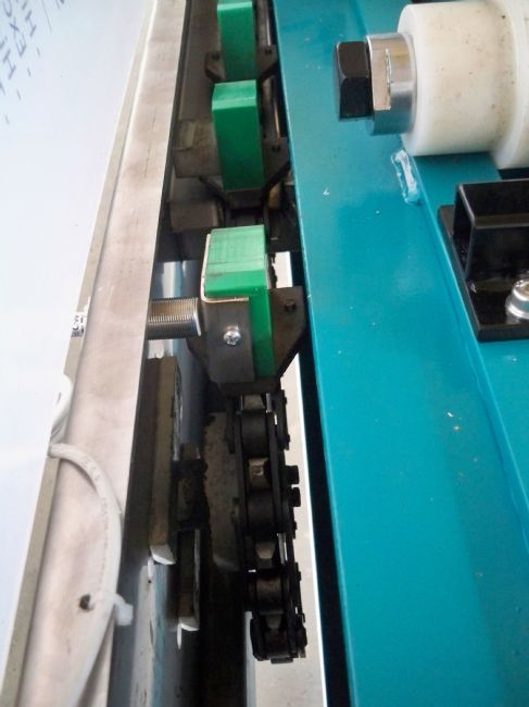 » VERLICCHI S.R.L. fornisce un filtro-pressa VR VI 800x800 a una azienda greca