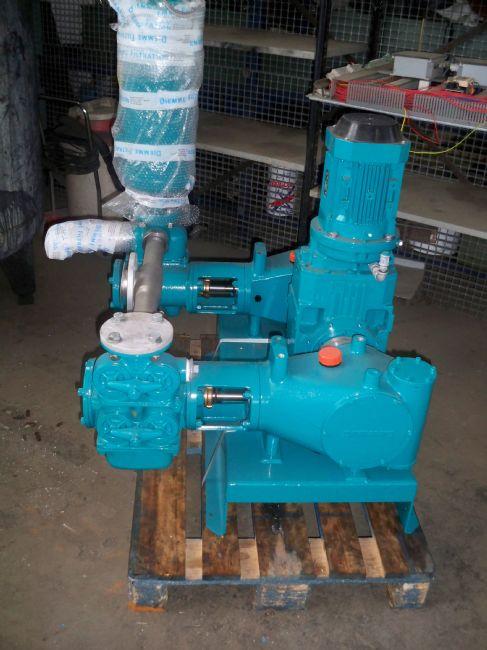 » N.04 pompe di alimentazione dei fanghi DM2D