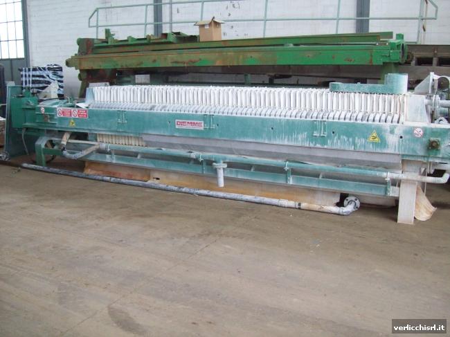 » N.01 filtro-pressa DM AUTOMAT 800x800 70 piastre