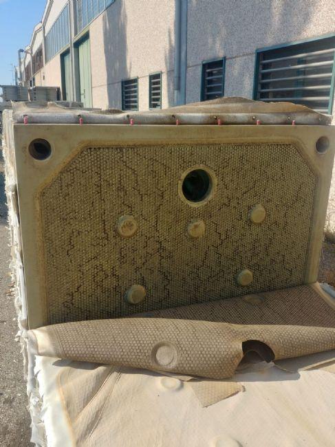 » N.150 piastre in polipropilene per filtro-pressa Diefenbach 1500x1500