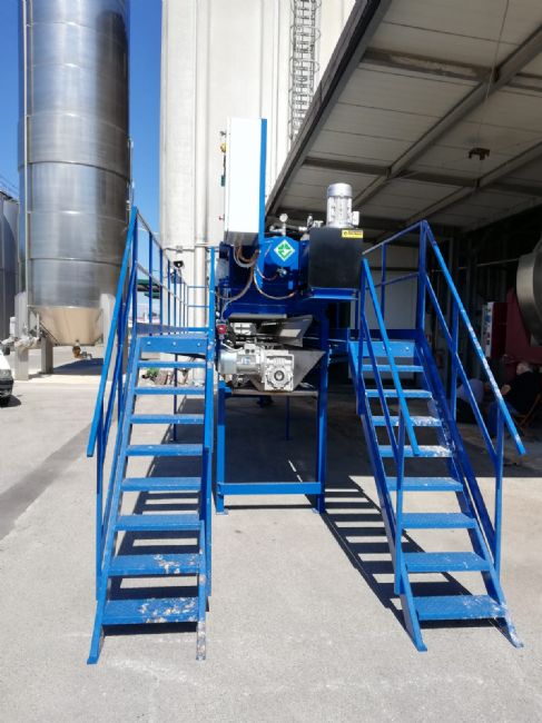 » VERLICCHI SRL install in a Campania's winery a VR VA 800x800 filter-press for the lees filttration