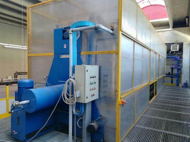 » N.01 filtro-pressa Diefenbach 1500x1500 con 100 piastre