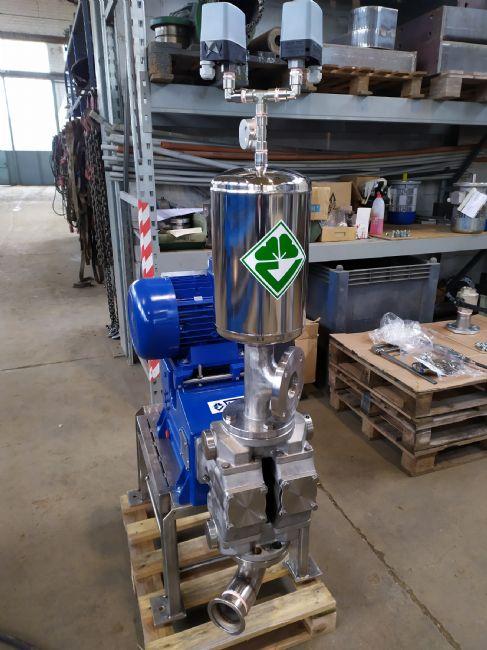 » VERLICCHI SRL installa un filtro-pressa 1000x1000 in un grande acetificio a Modena