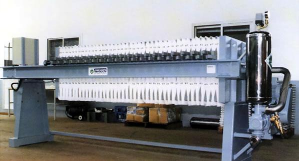 Filter press VRVM 630X630 » Filter press VRVM 630X630